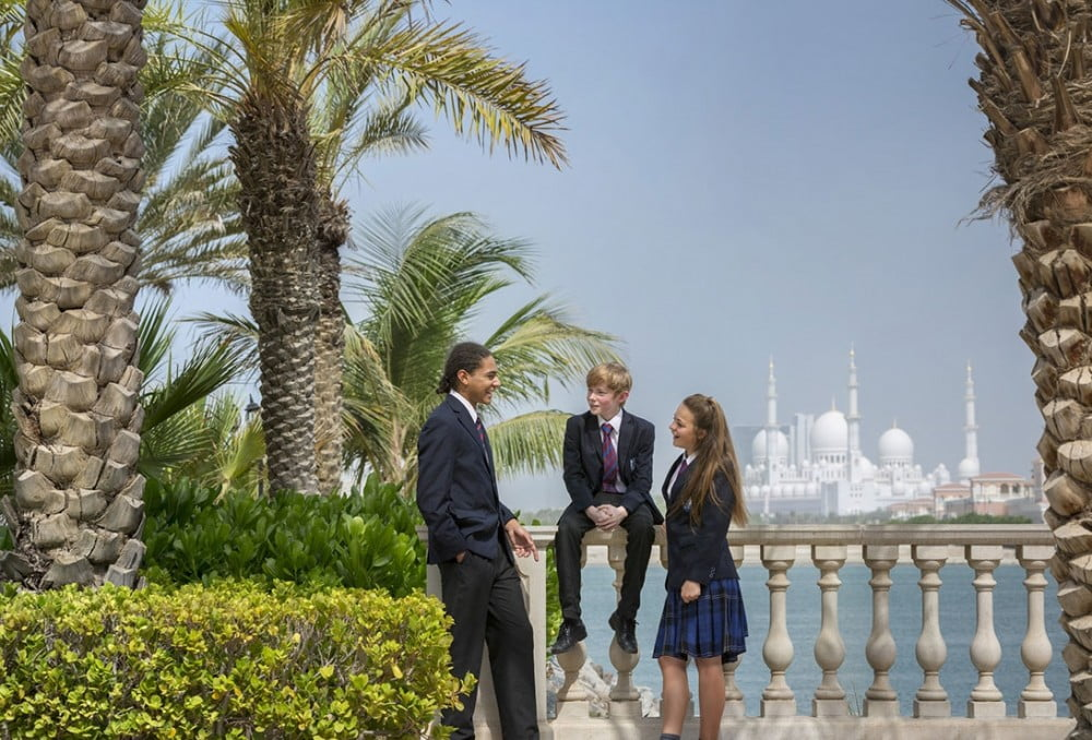 Image showing students from Brighton College Abu Dhabi