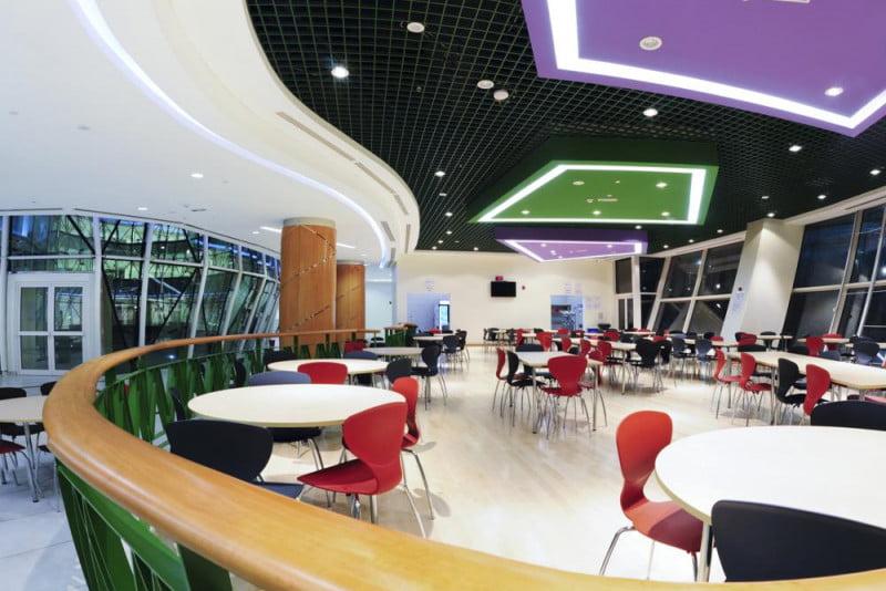 Larawan ng cafeteria Al Bateen Academy sa Abu Dhabi