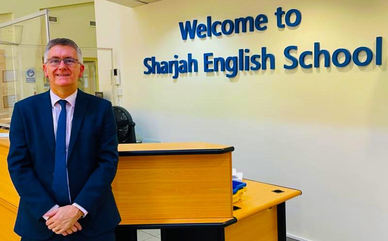 Darren Coulson Sharjah Englisch Schulleiter