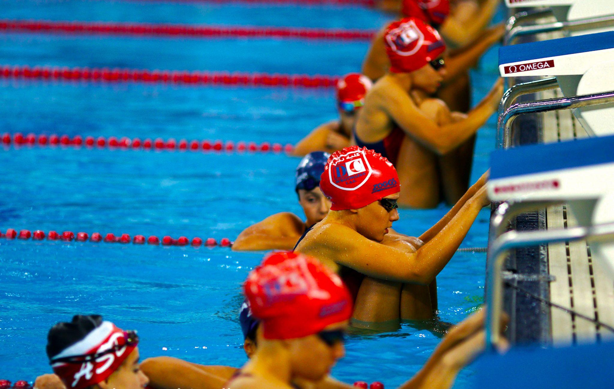 Schwimmen am Dubai College