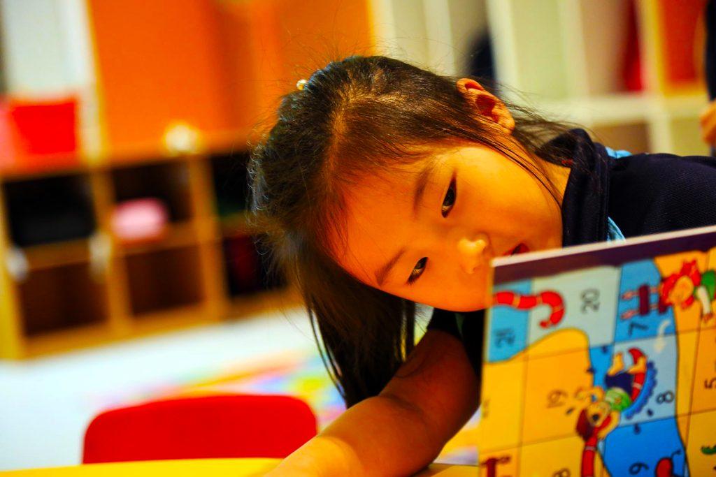 Lesen in EYFS an der Sharjah English School