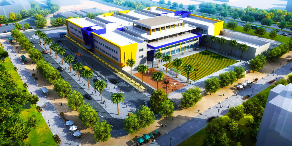 Global indian international school abu dhabi campus for International decor company abu dhabi
