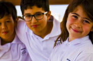 Photograph of students at Uptown School Dubai