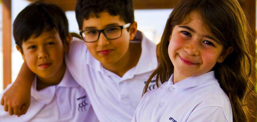 Larawan ng mga mag-aaral sa Uptown School Dubai