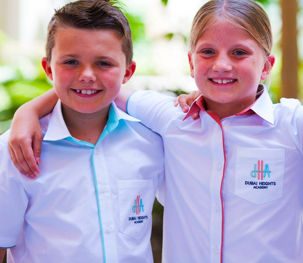 Dubai Heights Academy children learning