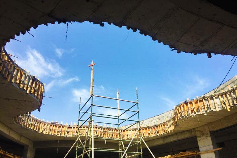 بناء أكاديمية دبي هايتس يونيو