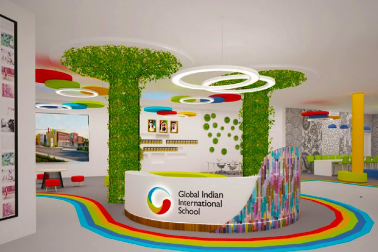 Reception at the Global Indian International School Dubai
