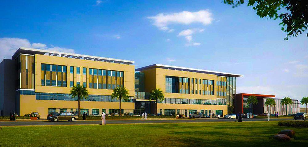 Das gerenderte Bild der neuen Ajyal British School Dubai soll im September 2018 erscheinen
