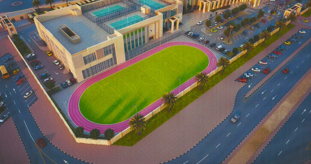 Rendered image of the new Solomon International School planned for launch in September 2018 in Dubai Production City