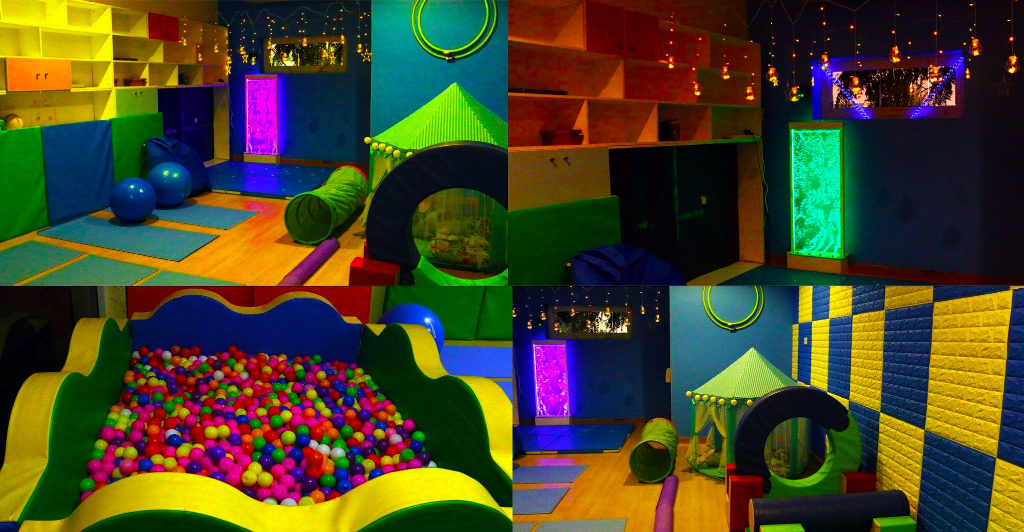 Sensory facilities at the Ambassador Kindergarten and Nursery in Dubai