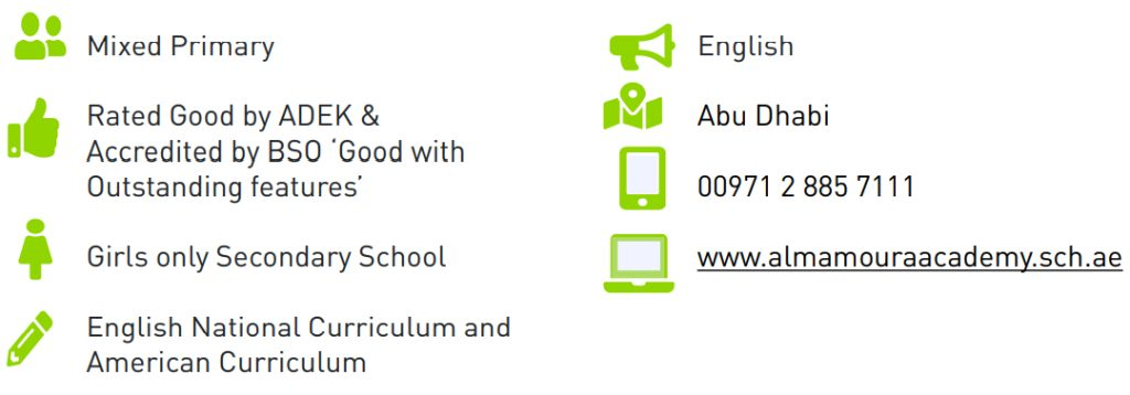 Quick Facts on Al Mamoura Academy in Abu Dhabi - An Aldaar Education School