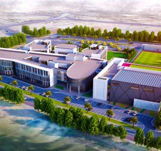 Larawan ng The Aquila School Dubai na nagpapakita ng mga bagong tampok na disenyo para sa 2018 na paglulunsad
