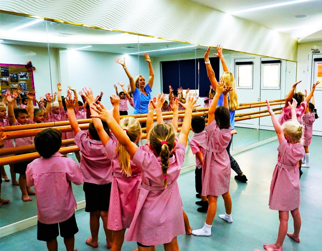 Dedicated dance studio at Dubai English Speaking School DESS in Dubai