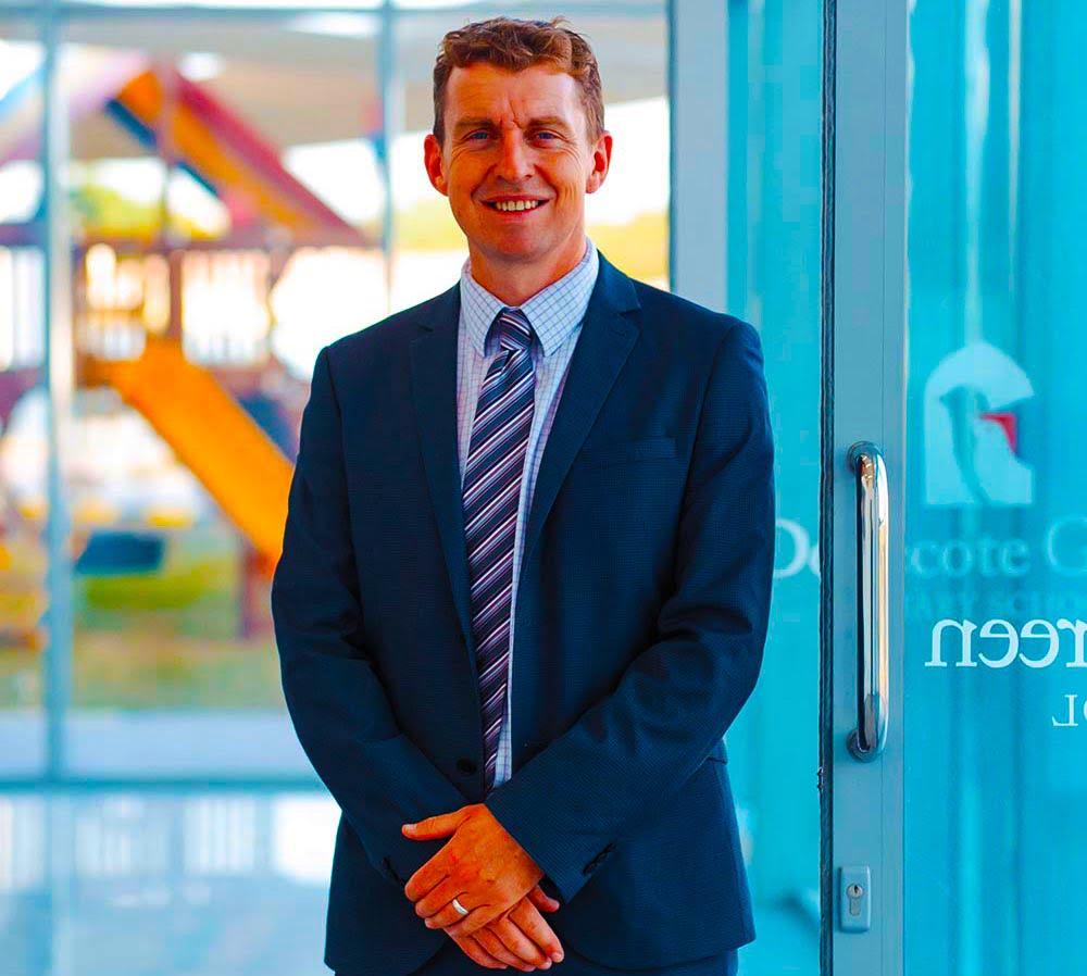 Larawan ng Patrick Affley Principal ng Dove Green Private School sa Dubai