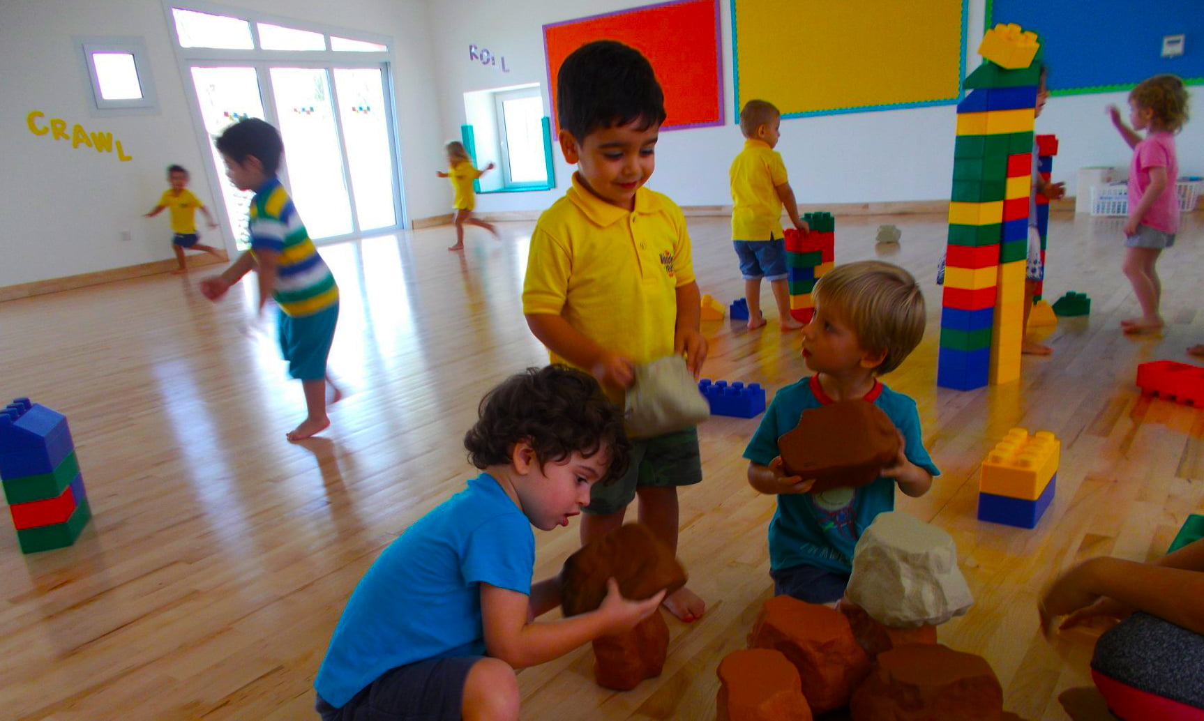 Space and facilities at the Wonder Years Nursery Dubai in the Remraam Community