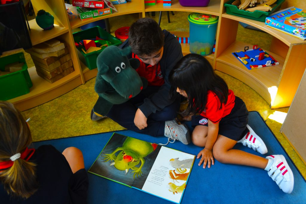 A concentration on developing reading skills using drama to inspire children takes centre stage at Ontario International Canadian School in Dubai