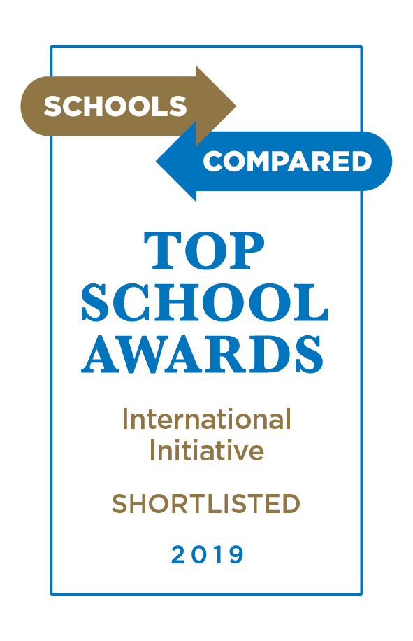 Award for Outstanding International Initiative in Schools 2019