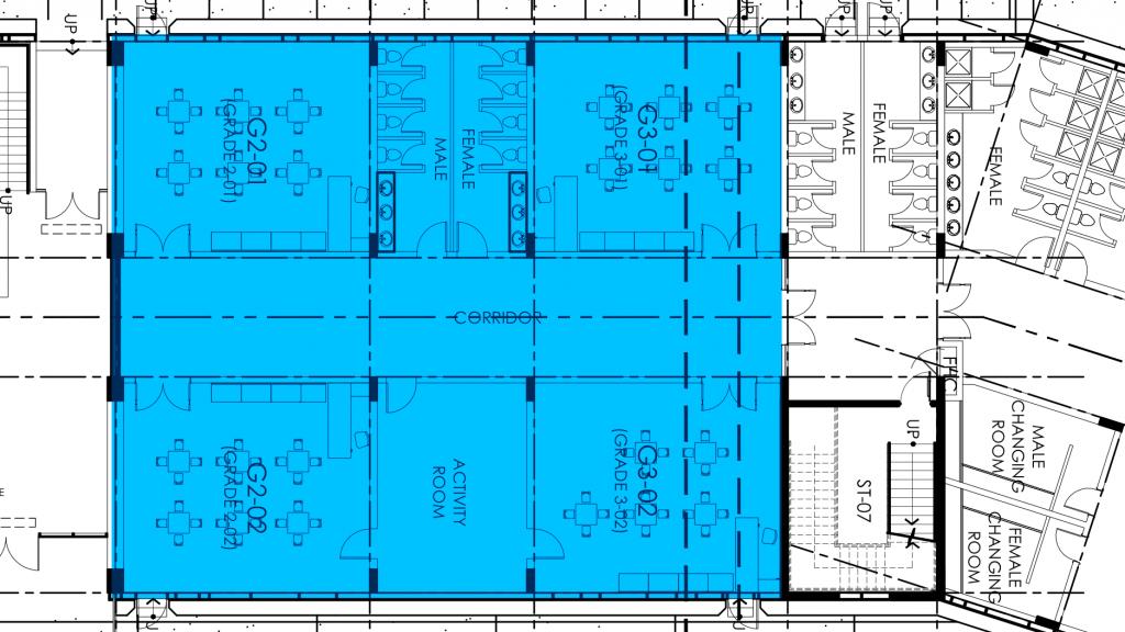 خطط الفصل الدراسي لـ Lycee Francais Jean Mermoz الجديدة في دبي