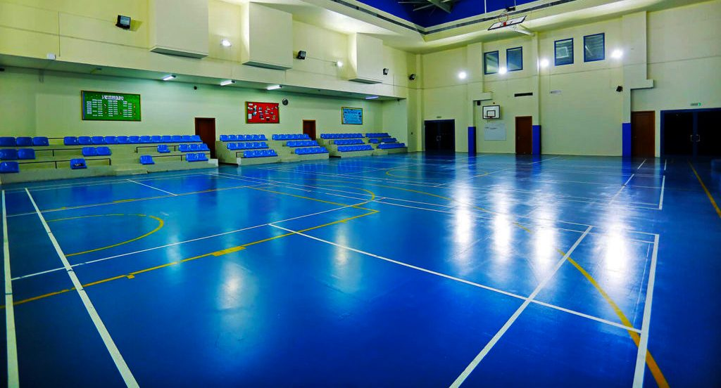 Photograph of the Sports Hall at Capital School in Dubai
