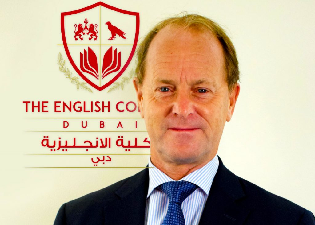 Photograph of Mark Ford, Principal of The English College in Dubai. Mark Ford joined the school in August 2019.