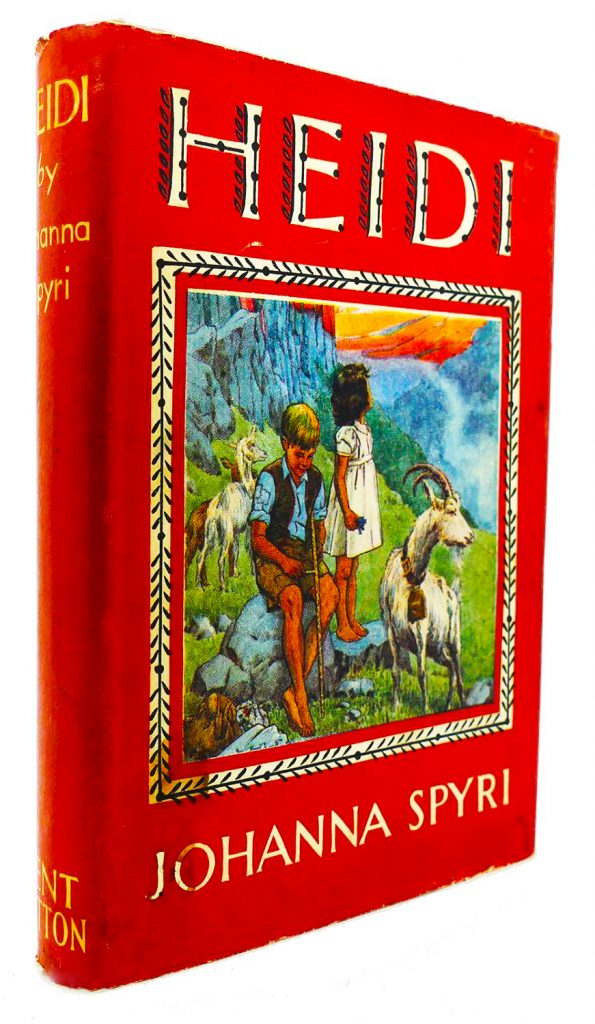 Coronavirus Covid 19 Lockdown and the Power of Reading as a Force for Good.  Top 20 Childhood Books from Schools Revealed. Here we look at Heidi by Spyri