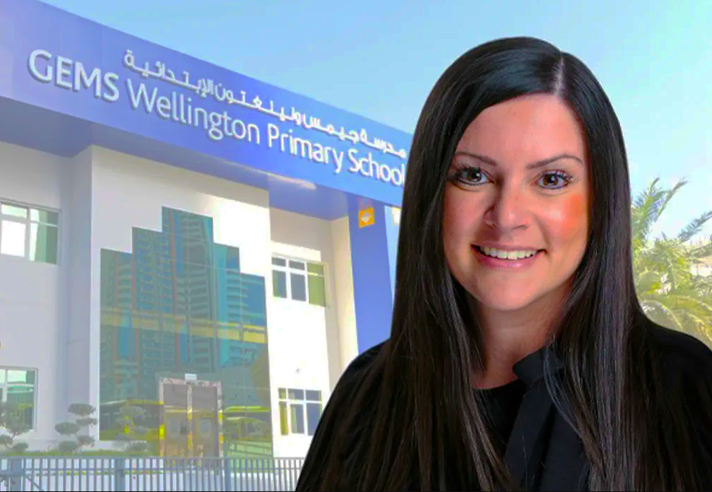 Foto von Frau Sarah O'Regan, Schulleiterin und CEO der GEMS Jumeirah Primary School in Dubai