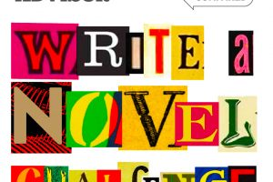 Official logo for the Write a Novel Challenge for children across the UAE announced by SchoolsCompared.com and WhichSchoolAdvisor.com