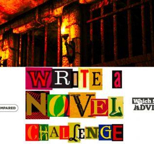 Capítulo 50 Página de título que muestra la mazmorra en la que Isla y Neina están prisioneras.