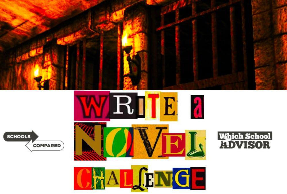 Kapitel 50 Titelseite mit dem Verlies, in dem Isla und Neina gefangen gehalten werden.