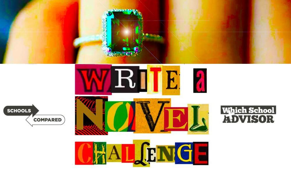 Covid 19 Schreiben Sie eine neuartige Herausforderung mit einem Verlobungsring aus Smaragd und Diamant