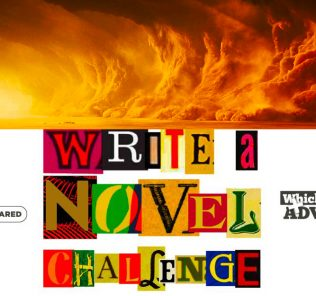 Write a Novel Challenge Chapter 71 illustration of a sandstorm