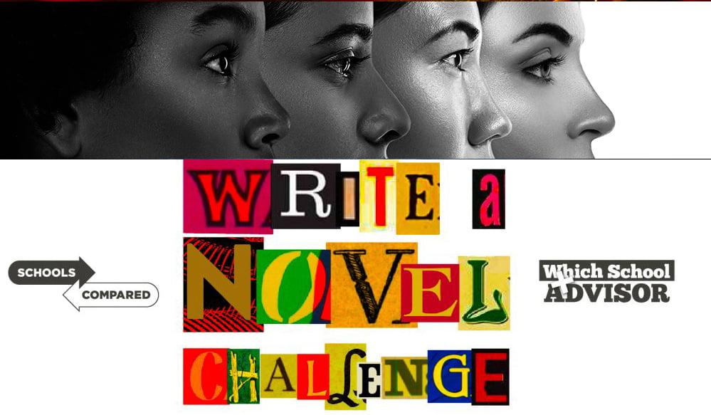 Schreiben Sie ein Novel Challenge-Foto der Protagonisten
