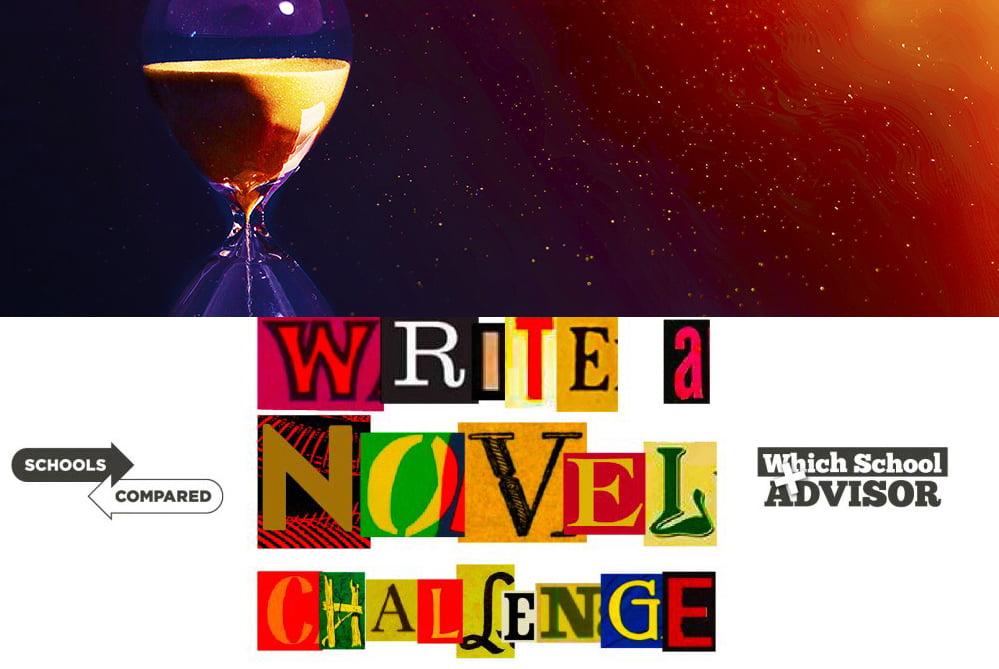 اكتب رسمًا توضيحيًا لتحدي الرواية للعد التنازلي لنهاية العوالم