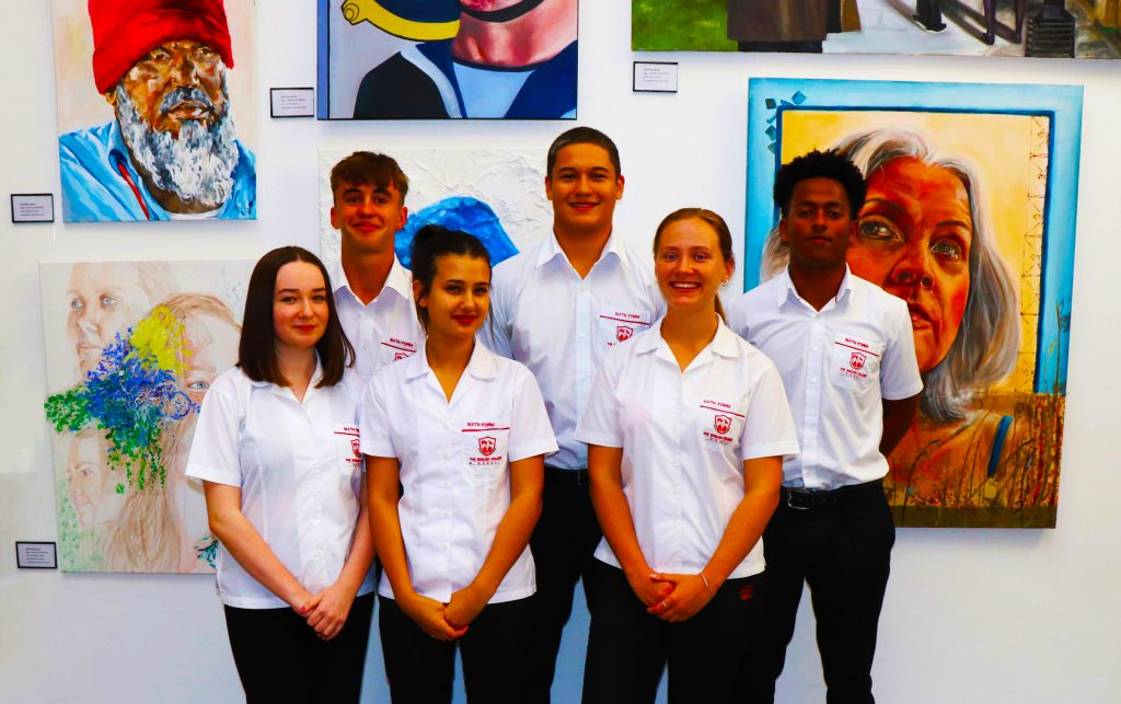 Sixth Form students at The English College in Dubai