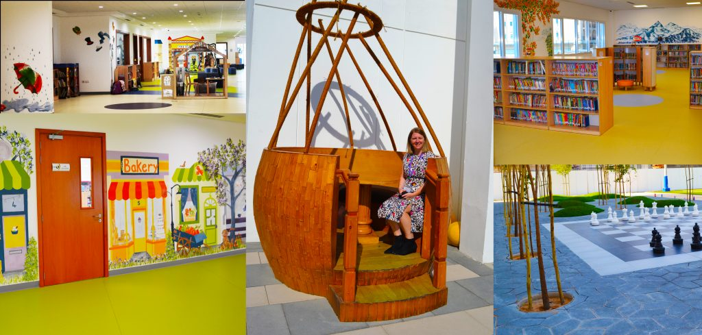 مجموعة من الصور التقطها صحفيو SchoolsCompared.com في نوفمبر 2020 في مدرسة الصفا البريطانية في دبي حيث تفتتح في موقعها الجديد في جميرا دبي