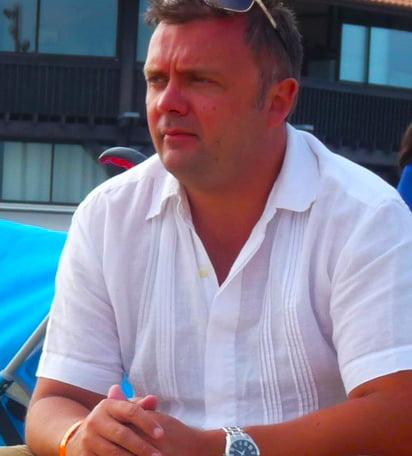 David Hicks Gründungsdirektor der Dubai International Academy Al Barsha
