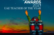 Award para sa Teacher of the Year sa Top School Awards 2021 na inilunsad sa What School Show sa Dubai