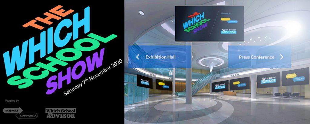 Foto des virtuellen Auditoriums der diesjährigen Which School Show, die am 7. November 2020 in Dubai stattfindet