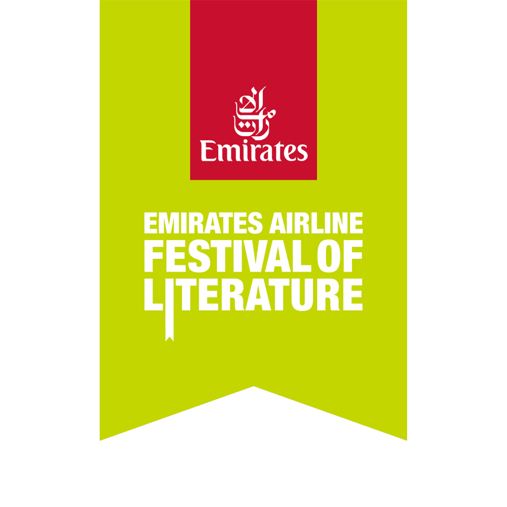 Official logo of Emirates Airline Festival of Literature 2021, LitFest 2021