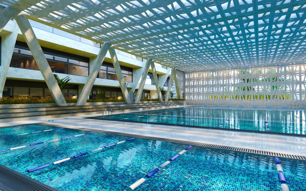 World class Sport facilities at The Royal Grammar School Dubai - the new British Curriculum Tier 1 Premium School opening in Dubai UAE in September 2021