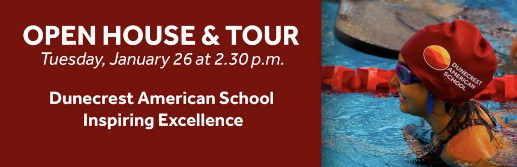 انضم إلى مدرسة Dunecrest الأمريكية في دبي في جولة وجولة مفتوحة لعام 2021