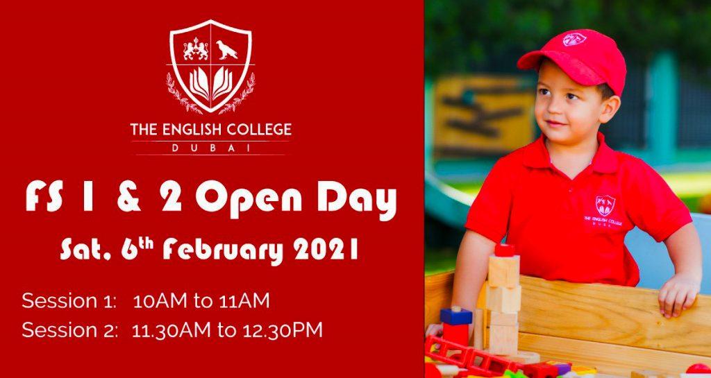 English College Dubai Open Day 2021