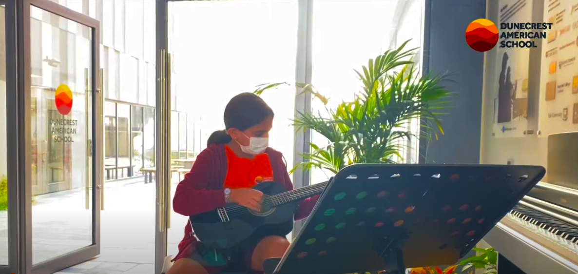 Musical talent at Dunecrest American School in Dubai comes alive at this live stream of joy and child achievement