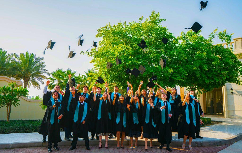 Foto von Schülern der Nord Anglia International School in Dubai 2021