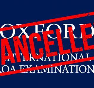 Oxford AQA International A Level und GCSE-Prüfungen abgesagt Februar 2021