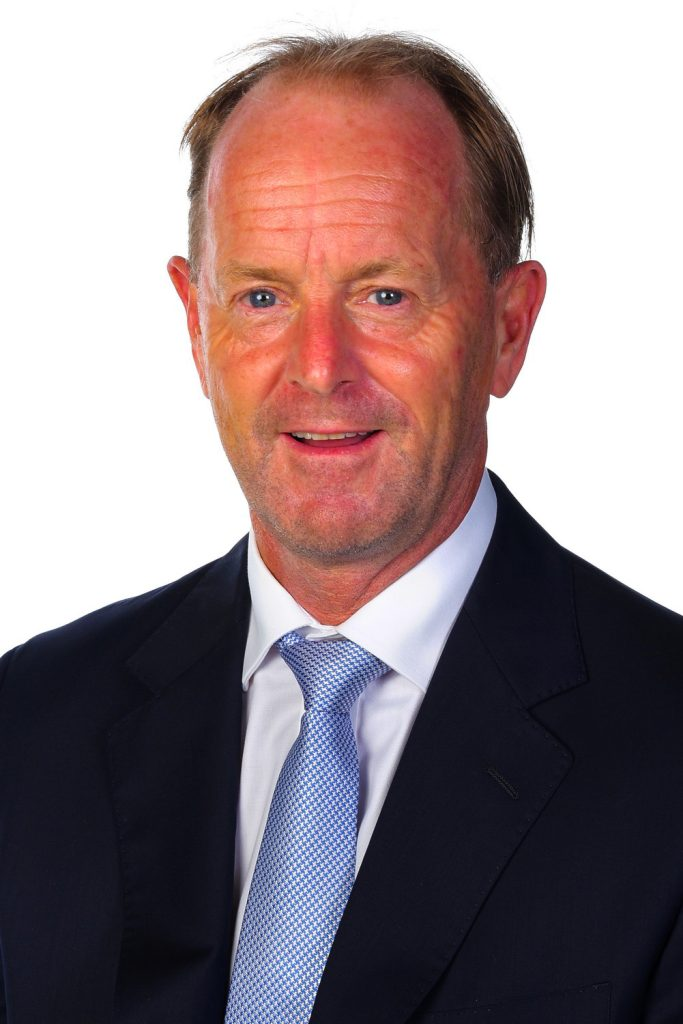 Photograph of the Headmaster of the English College in Dubai Mark Ford taken in October 2021