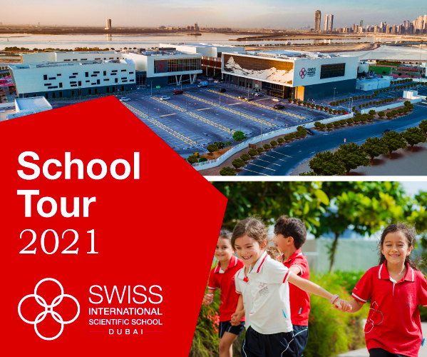 Tour sa paaralan ng Swiss International Scientific School sa Dubai noong 2021