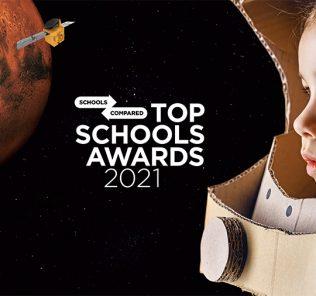 في العام الذي تدور فيه مهمة الإمارات للفضاء حول كوكب المريخ ، تنطلق جوائز أفضل المدارس 2021 للاحتفال بالمدارس والابتكار في الإمارات العربية المتحدة