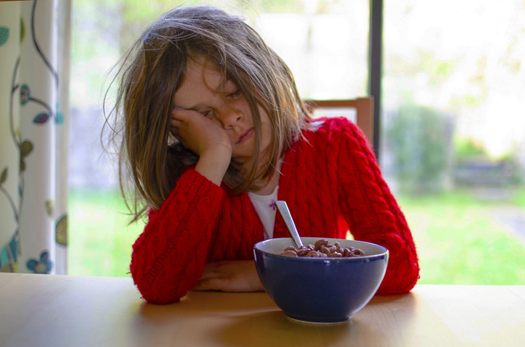 Insomnia in children can have devastating impacts on learning with children tired-out at school