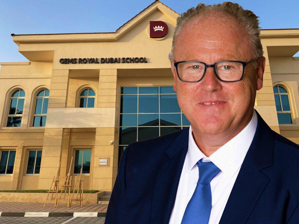 Foto von John Bagust, neuer Schulleiter der GEMS Royal Dubai School - Eine erste Royal Alliance School von GEMS.